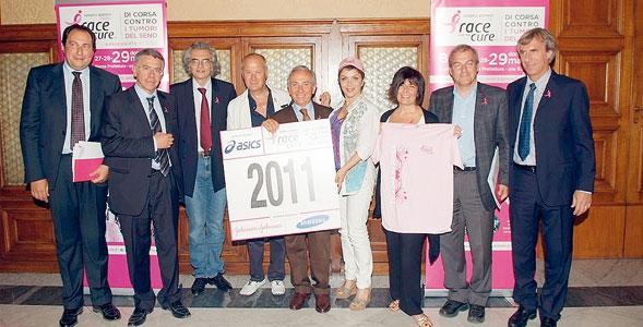 Il 29 maggio, in rosa contro il cancro con Race for the Cure 2011