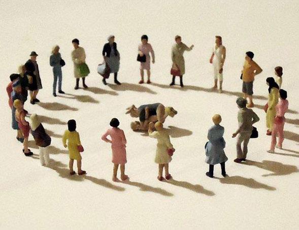 La Strada: previsioni dal post [mondo] dal 14 giugno alla Galleria BLUorG
