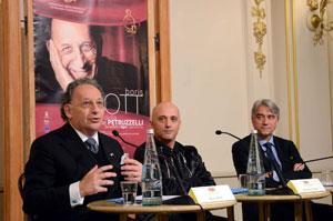 Boris Brott e Benedetto Lupo