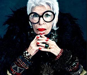 Iris Apfel e Daphne Guinness per Mac Collection, la rivoluzione della moda