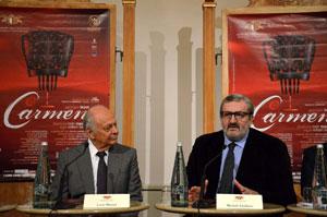 """Una """"Carmen"""" internazionale quella di Lorin Maazel al Teatro Petruzzelli di Bari"""