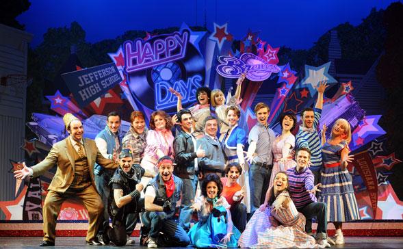 Happy Days il musical il 7 e 8 marzo al Nuovo Teatro Verdi di Brindisi