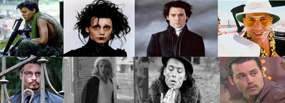 I mille volti di Johnny Depp ovvero: il maggiore indiziato del caso Tim Burton