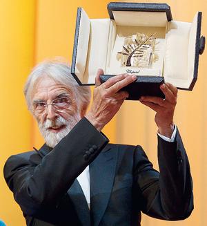 Amour di Michael Haneke vince la Palma d'oro a Cannes 2012