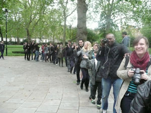 Photo Flash-Mob