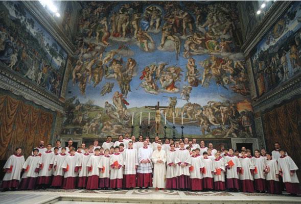 """Coro della Cappella Musicale Pontificia """"Sistina"""""""