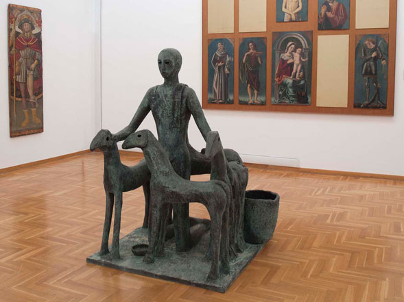 PALADINO. LA SCULTURA la mostra alla Pinacoteca di Bari