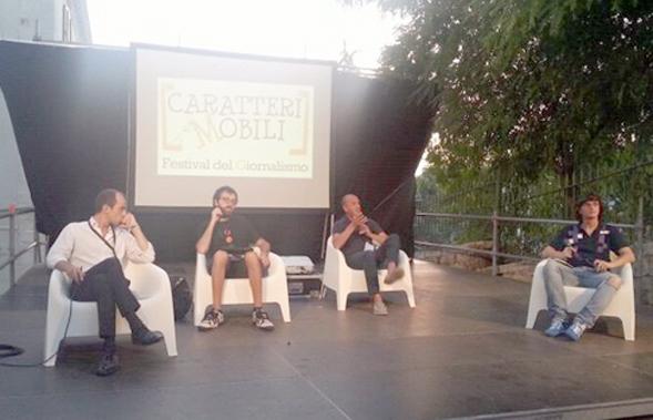 Lo scoop nel tweet, interessante dibattito per il Festival di giornalismo Caratteri Mobili