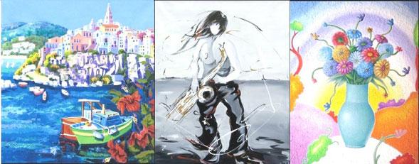 Alinari, Faccincani e Insalata in mostra a Vieste dal 4 agosto con le loro opere