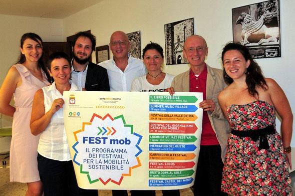 """Presentato """"Fest-mob"""", la mobilità sostenibile ai Festival dell'estate pugliese"""