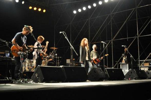 """Patti Smith in concerto a Molfetta nella """"beautiful Puglia"""""""