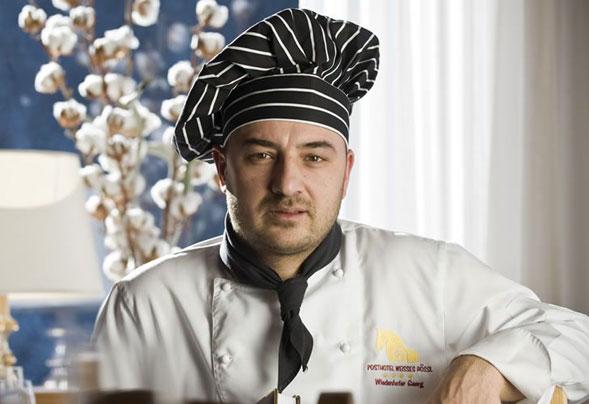 Georg Wiedenhofer racconta la sua cucina nel Romantik Hotel Post a Nova Levante, nel cuore delle Dolomiti