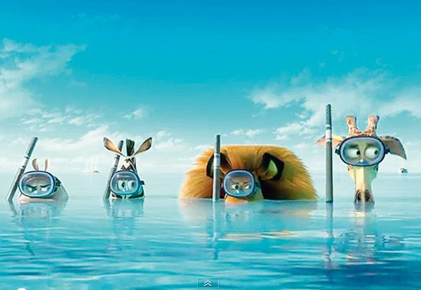 Madagascar 3, il nuovo capitolo della serie animata dal 22 agosto in Italia