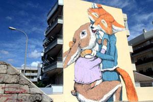 Grottaglie, capitale dei graffiti con il 'Fame Festival'