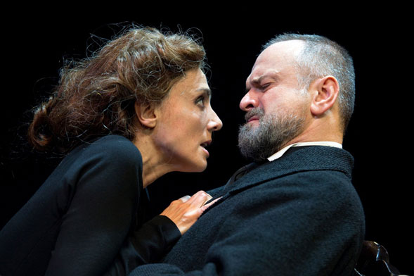 Al Piccolo Teatro Grassi di Milano in scena Massimo Popolizio in John Gabriel Borkman