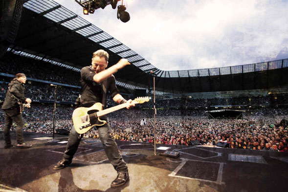 Bruce Springsteen and The E Street Band in concerto in Italia nel 2013