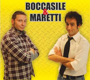 """Uno show fatto in """"casa"""" quello di Boccasile & Maretti dal 15 dicembre al Teatro Di Cagno"""