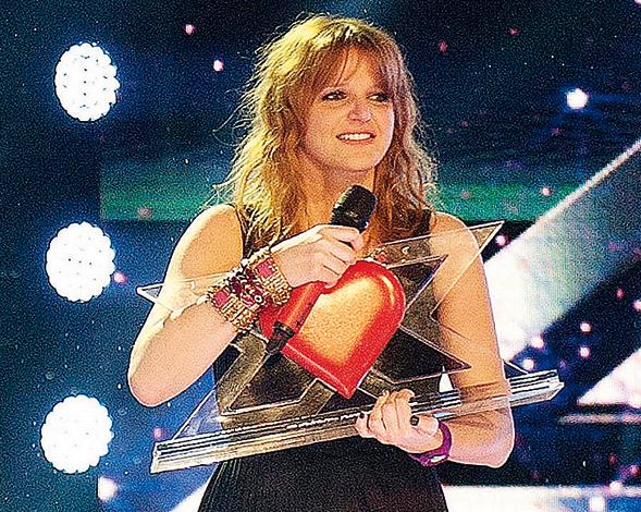 Chiara Galiazzo vince X Factor 2012 e parte la promozione in giro per l'Italia