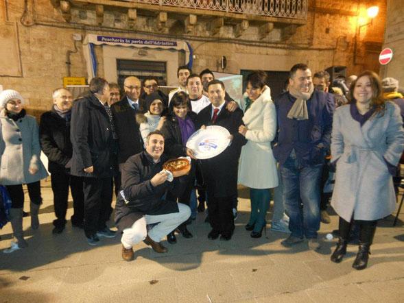 """""""La pizza scarola"""" vince la prima edizione di """"In Cucina con la Befana"""" a Ruvo"""