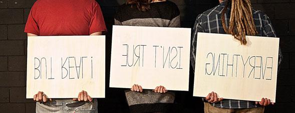 """Intervista ai tre autori della mostra """"Everything isn't true, but real!"""""""