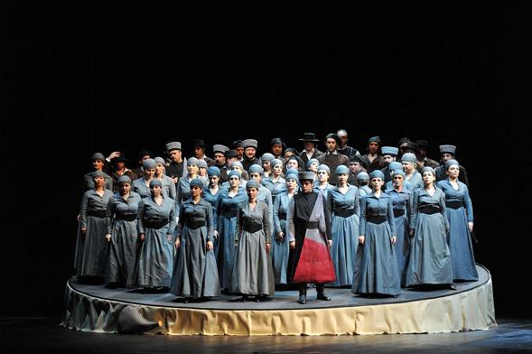 Il difficile Otello di Eimuntas Nekrošius al Teatro Petruzzelli