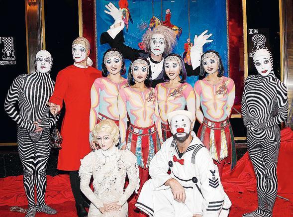 Dal 7 febbraio arriva in Italia il film sul Cirque du Soleil in 3D
