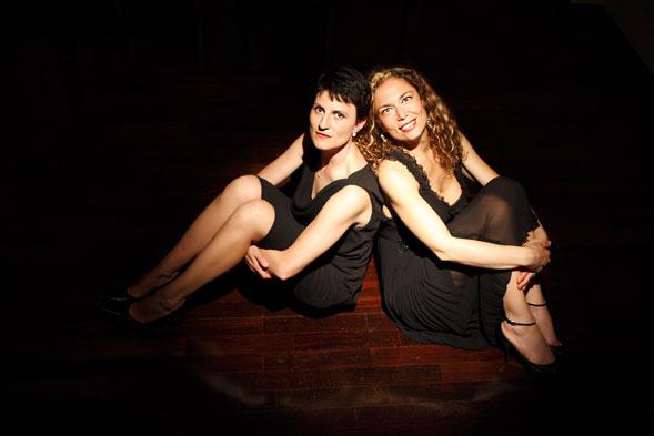 Tiziana Portoghese e Fiorella Sassanelli