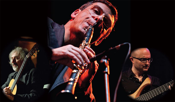 Il 22 febbraio all'Enoteca del Jazz De Astis Gabriele Mirabassi Trio in concerto