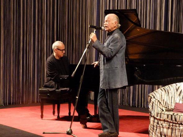 """Gino Paoli e Danilo Rea in concerto a Catania regalano atmosfere """"uniche"""""""