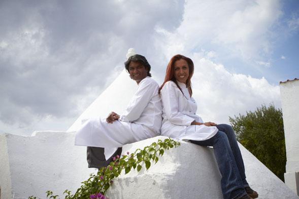 Antonella Ricci e Vinod Sookar
