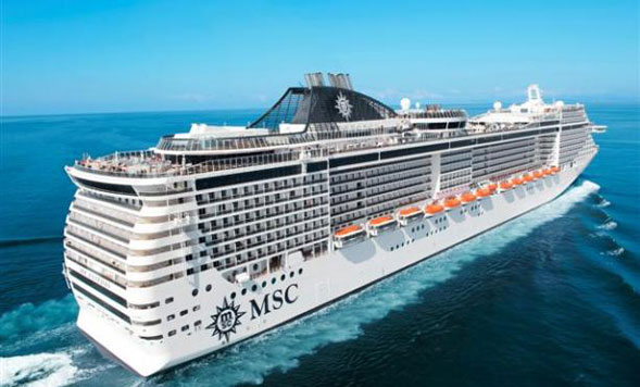Fantasia, la seconda ammiraglia di Msc crociere a Bari per il suo esordio