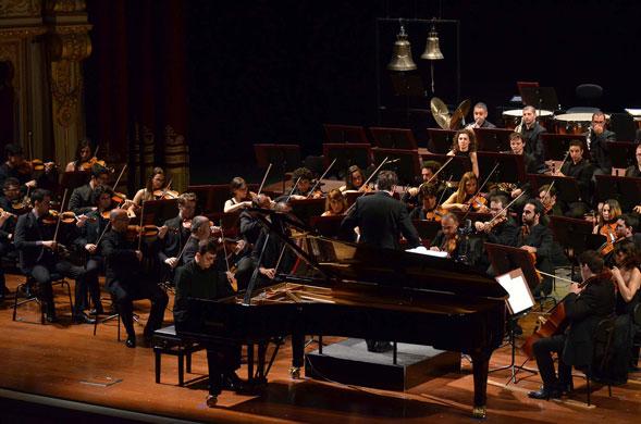Brahms e Berlioz nell'esecuzione di Rophé e Aimard con l'Orchestra del Petruzzelli