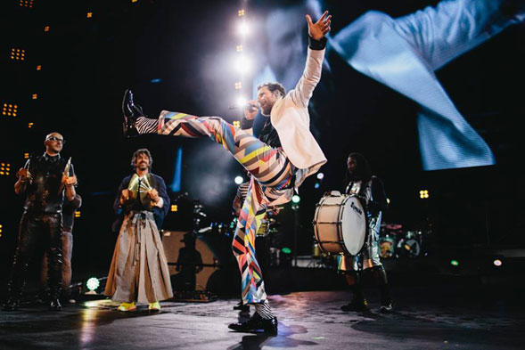Backup Tour di Jovanotti