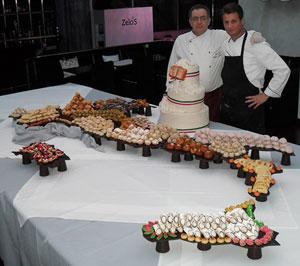 Lo chef olimpico Giuseppe Galena alla 77a edizione della Fiera del Levante