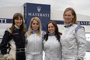 Lady Racers, quattro donne ungheresi corrono per Maserati