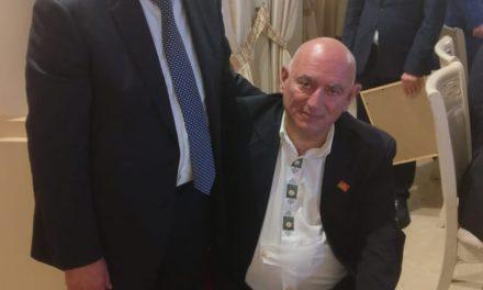 Vito Grittani è cittadino abcaso. Alto riconoscimento per l'ambasciatore a disposizione e i suoi meriti
