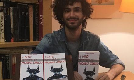 """""""Lato Oscuro del Mondo Greco"""" pubblicata la prima fatica letteraria del giovane Alarico Lazzaro"""