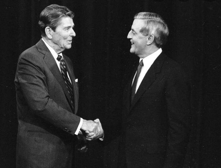 Le elezioni che hanno cambiato la storia degli Usa.  1984: il trionfo di Reagan ed il colossale flop Mondale