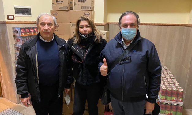 Consegnati dal Rotary club Bari Castello al Comune di Bari e ad alcune mense beni alimentari e farmaceutici