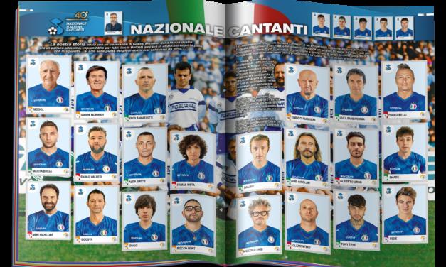 """LA NAZIONALE ITALIANA CANTANTI E PANINI PER LA COLLEZIONE """"CALCIATORI 2021"""""""