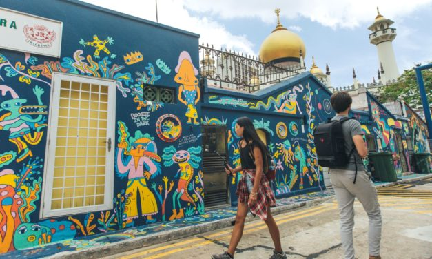 Le 5 strade più artistiche di Singapore da vedere almeno una volta nella vita