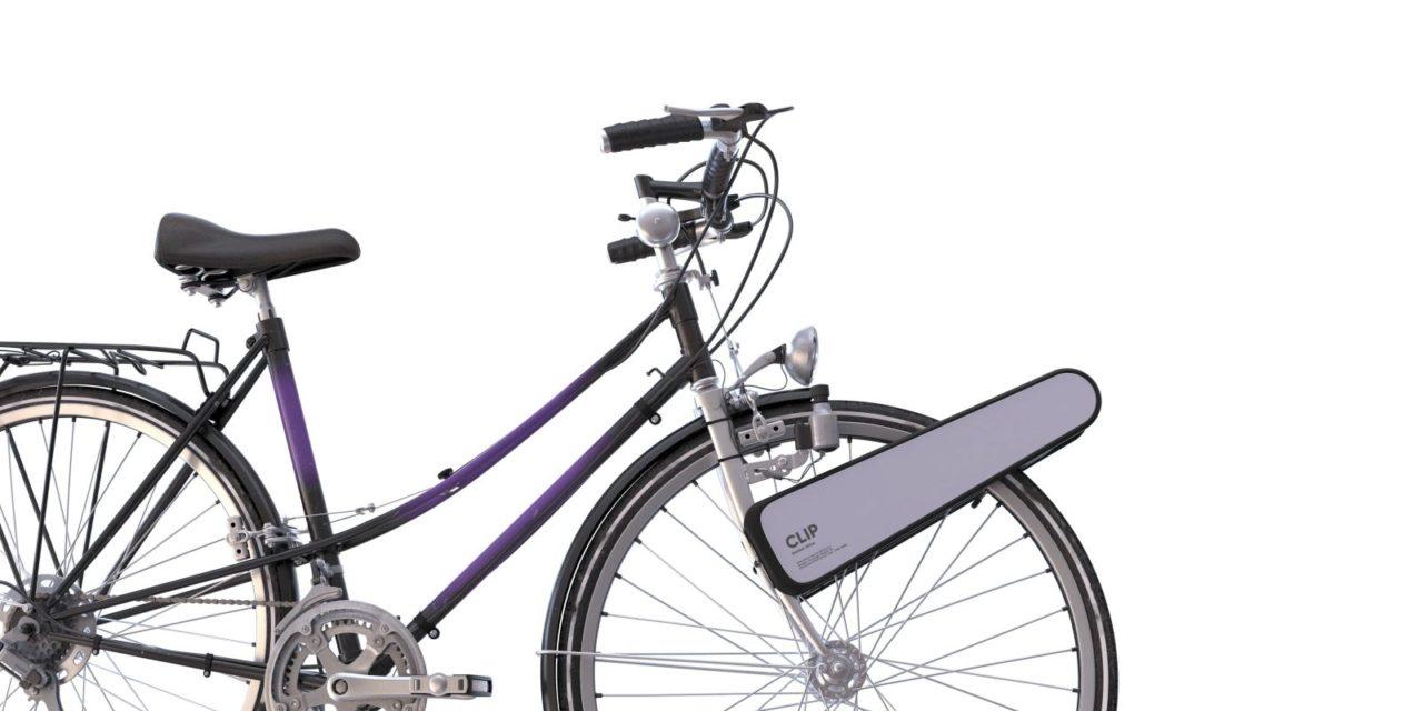 CLIP, motore elettrico portatile che trasforma ogni bici in ebike