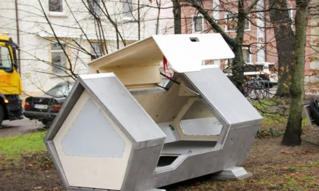 Capsule hi-tech per homeless: in Germania testano la Ulmer Nest