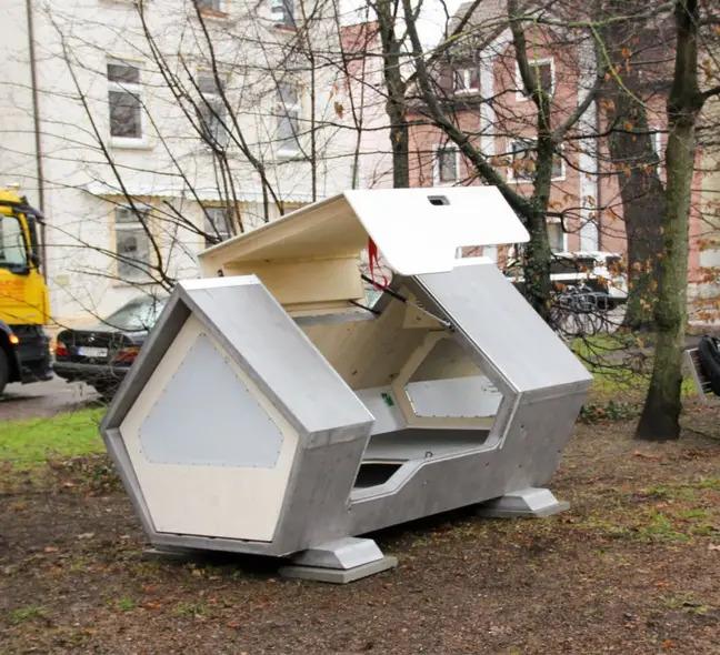 Capsule hi-tech per homeless: in Germania testano la Ulmer Nest