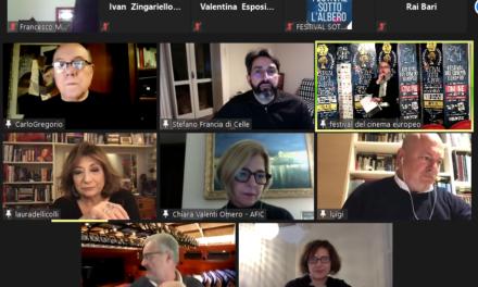 """""""IL CINEMA CHE VERRÀ"""". incontro streaming per parlare sulle aspettative dell'industria cinematografica"""