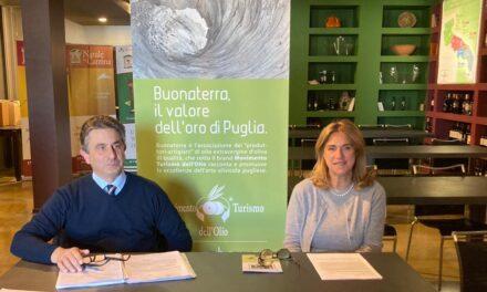 Movimento Turismo dell'Olio. Alla guida del consorzio Donato Taurino e Doriana Cisonno