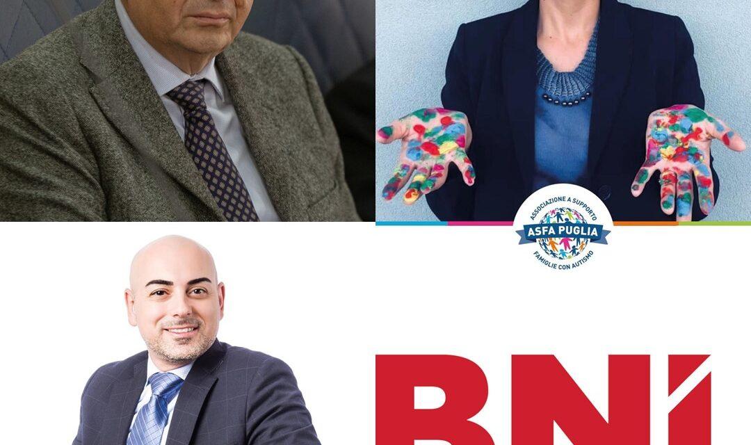 Imprenditori e professionisti baresi in una collaborazione etica e solidale con il Business Network International