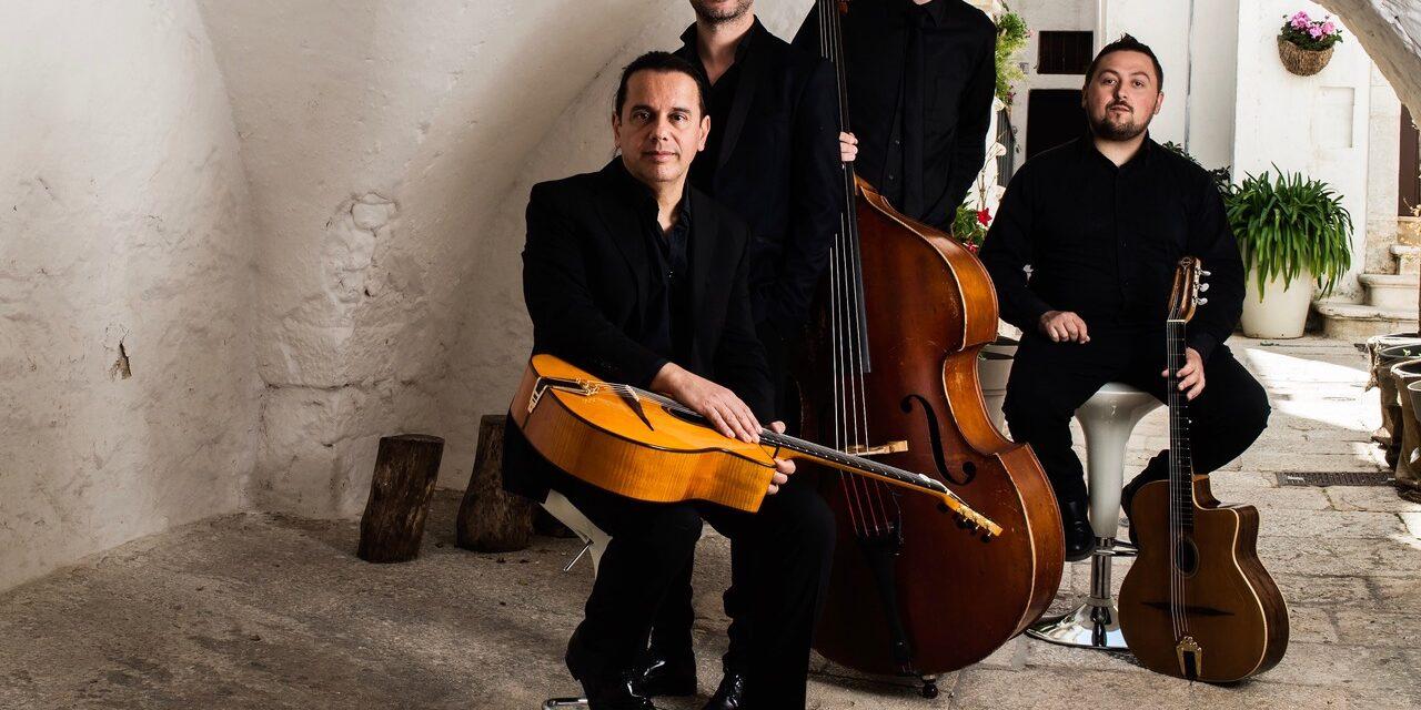 """Il 3 aprile in streaming dalla Vallisa """"Fabio Lepore e il Salvatore Russo Gypsy Jazz Trio"""" in concerto"""