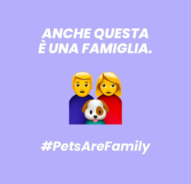 La startup Petter Food chiede Pets Are Family, un emoji per la pet family