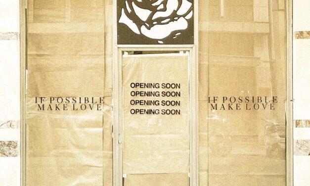 """A Bari il Temporary Store del brand di Michele Armenise """"If Possible Make Love"""""""